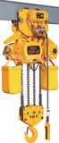 A C.C. controla a grua Chain elétrica 3ton