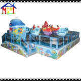 屋外の運動場のための水ゲームの遊園地装置の鮫の島
