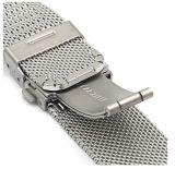 ミラノの網の時計バンド0.6mmのステンレス鋼バンド