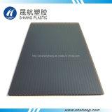Замороженный лист толя темного бронзового полого поликарбоната пластичный