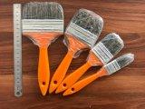 Cerda mezclada con el cepillo de pintura de los filamentos con la maneta plástica