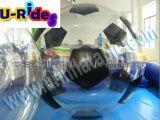 bille de l'eau du football de PVC d'épaisseur de 1.0mm