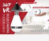 Appareil-photo infrarouge grand-angulaire de lumière d'ampoule de télévision en circuit fermé d'IP de WiFi de 960p Fisheye
