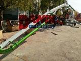 Pompe à boisseau de béton mobile de 17 m