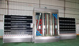 Skw-1800Vのセリウムの品質の縦のガラス洗濯機