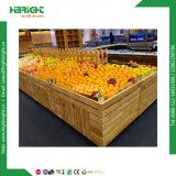 삼각형 야채와 과일 진열대