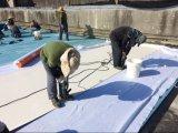 単一層屋根システムPVC防水の膜または屋根ふき材料の建築材料の建築材を防水する屋根のためのPVC防水膜