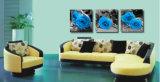 Дома картины Rose картины стены надувательства 3 частей изображение искусствоа стены горячего самомоднейшего декоративное покрашенное на доме холстины печатает Mc-201