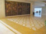 Mattonelle di marmo dorate reali di lusso per il rivestimento/pavimentazione/scale/che fiancheggiano della parete