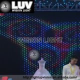 La publicité de certificat poids léger de personnaliser le design de haute qualité stade pleine LED de couleur affiche le rideau de décoration