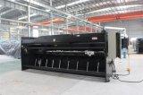 Máquina de corte da guilhotina hidráulica, máquina de estaca 10mmx2500mm da placa de aço