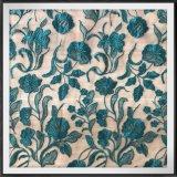 ポリエステル網の刺繍のレースのテュルの刺繍のレースの花の刺繍のレース