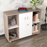 Mobiliário doméstico Gabinete de armazenamento em madeira na sala de estar