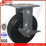 """macchina per colata continua a temperatura elevata della parte girevole della rotella del carrello del forno 6 """" X2 """""""