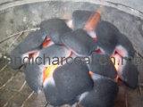 BBQ 목탄 (베개 모양)