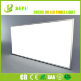銀製フレーム40W 60W 2X4のセリウムTUV Dlc LEDの天井板ライトが付いているフラットパネルライト110lm/W