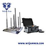 Bandes dds plein Talky -Talky Tetra Téléphone cellulaire 3G 4G WiFi GPS 12 bandes de bombes Brouilleur de Signal
