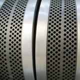 El anillo del acero inoxidable muere de la máquina de madera de la pelotilla