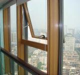 Marco de aluminio de cristal cortina de pared con ventana Toldo