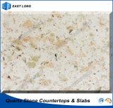 Partie supérieure du comptoir artificielles de quartz pour la décoration de maison de matériau de construction avec la qualité (couleurs de quartz)