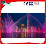Il grande progetto può essere fontana esterna personalizzata di musica con l'indicatore luminoso variopinto del LED