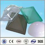 Feuille en plastique de PC de Foshan d'espace libre de feuille de lucarne de polycarbonate