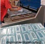 Plástico de quatro colunas/borracha/máquina estaca hidráulicos automáticos da espuma