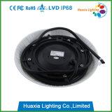 36W PVC 수영풀 빛은, LED 수영장 빛, 수영장 램프의 둘레에 거치해 떠오른다