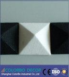 Écrans antibruits insonorisés de matériau d'isolation de fibre de polyester