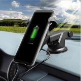 Мобильный телефон360 степени автомобиля зарядное устройство беспроводной связи ци автомобиля зарядное устройство беспроводной связи