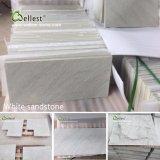 Белый/черный/бежевый/серый/зеленого и красного песчаника стены оболочка плиткой и проложить плиткой с отточен, Rockface Bushhammered, готово