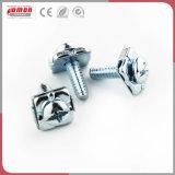 Instrument de matériel de construction les raccords en cuivre de l'écrou à embase de thread de métal