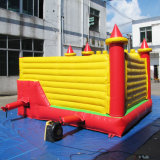 Los niños diapositiva juegos inflables castillo hinchable