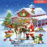 Настройка обратного отсчета до Рождества появлением календари Withouts шоколад