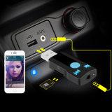 Nuova automobile Handfree di Bluetooth della ricevente di musica della ricevente del USB di Bluetooth che chiama l'automobile effluente A2dp di 3.5mm aus.