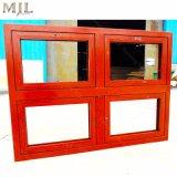 Último en diseño de doble acristalamiento de aluminio de madera revestida de Casement Window