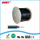 Nuovi cavi elettrici del cavo coassiale Rg11 RG6 Rg59 di disegno con il messaggero