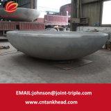 01-31 estremità servita spessa dell'acciaio inossidabile della parte del serbatoio della parete grande per il contenitore a pressione ID6050mm*T50mm