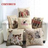 Coperchio di tela dell'ammortizzatore della cassa del cuscino del sofà del cotone spesso del jacquard del cane