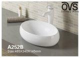 Kunst-Bassin-Oberseite-Bassin-populäre Entwurfs-Farben-Badezimmer-Eitelkeit