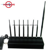 Перепускной сотовой связи GSM/UMTS/3 G-WLAN/Bluetooth-GPS-433 Мгц 868 Мгц, портативный 8 антенны для всех сотовых, GPS, кражи Lojack, охранной сигнализации система подавления беспроводной сети