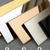 201 304 PVDカラー上塗を施してあるステンレス鋼の中国製試供品