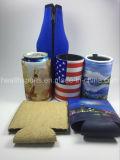Fördernder Flaschen-Halter, Isolierneopren-Bier-Getränkestämmige Dosen-Kühlvorrichtung