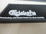 OEM 3D Mat van de Staaf van pvc van het Embleem Zachte Rubber voor de Bevordering van het Bier of van de Drank