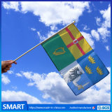Sports EventsのためのパラグアイHand Waving National Flags