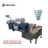 El consumo de papel de máquina de hacer la paja