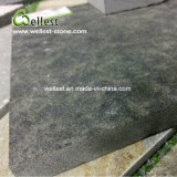 De opgepoetste Geslepen Gevlamde Struik Gehamerde Tegel van het Graniet van Mongolië Zwarte