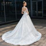 Soem weg vom Schulter-Spitze-Hochzeits-Kleid (BH004)