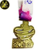 Ha annunciato la medaglia di sport del metallo con l'incisione di marchio 3D