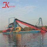 Draga di /Sand della draga di benna del fiume di Qingzhou da vendere